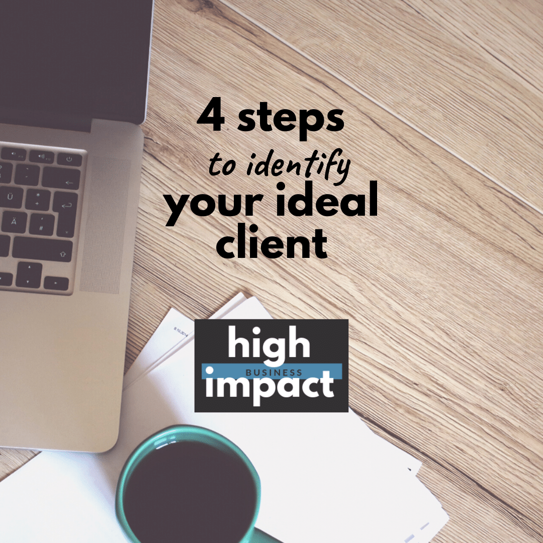 4 steps to identify your ideal client