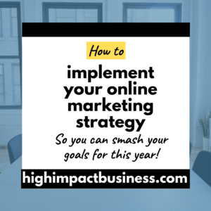 Learn how to successfully implement an online marketing strategy for service businesses