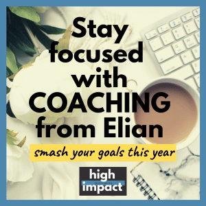 Stay Focused with Coaching from Elian Tyson