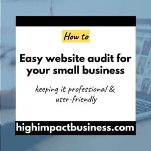 Marketing checkup – perform an easy website audit with these 7 steps